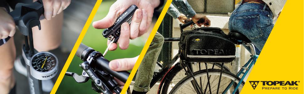 Topeak Trolley Tote MTX TB2008 Arrière Pliable Vélo Panier Avec Roues