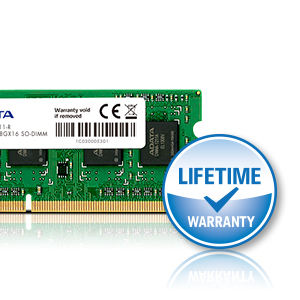 Life time warranty DDR3L