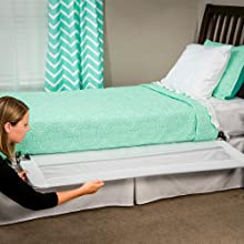 hide away bed rail extra long