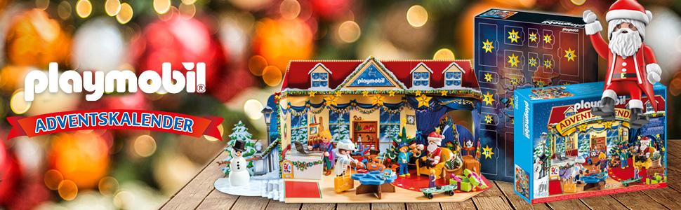 PLAYMOBIL Calendario de Adviento Baile de Navidad en el Salón de ...