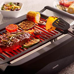 Philips Hd6370 91 Smokeless Indoor And Outdoor Grill 1600