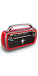 ION Audio Mustang Stereo - Altavoz Boombox Estéreo ...