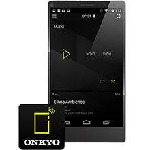 Smartphone Control with Onkyo DapController
