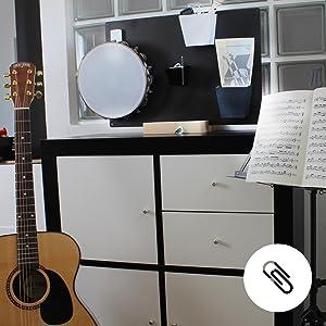 pizarra para la oficina, estudio, tizas, notas, imán, magnético, paredes