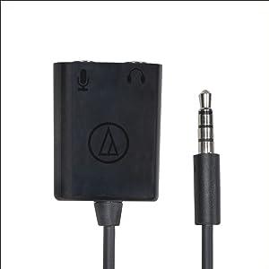 Mic/headphone adapter