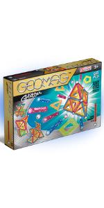 Geomag, Glitter, Magnetic Building Sets, STEM toys, Kids, Construction