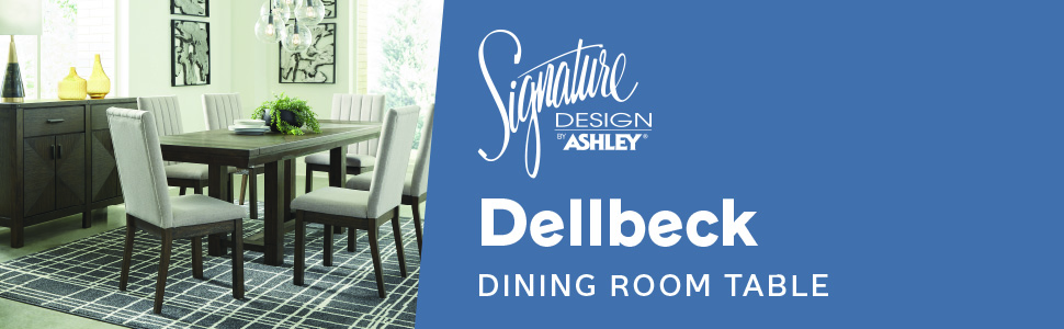D748 DELLBECK collection signature design by ashley furniture dining room