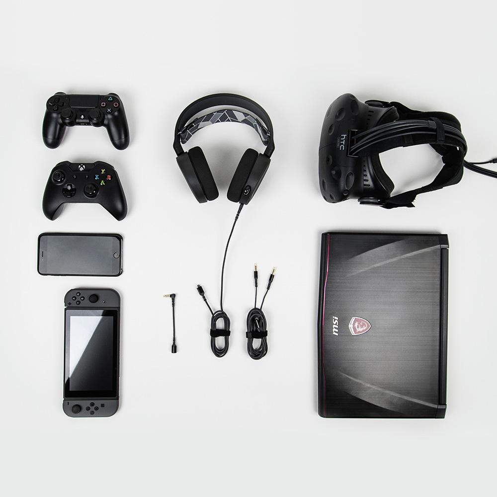 SteelSeries Arctis 3, All-Platform Gaming Headset for PC
