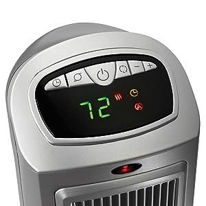 lasko tower space heater digital controls