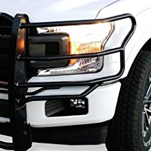 rugged grille guard front end protection brush guard