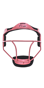 Champion Sports Steel Softball Mask FMAPK