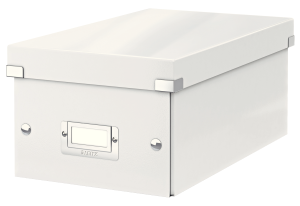 leitz click and store dvd storage box