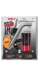 """Nissan 5/8"""" Receiver Lock"""