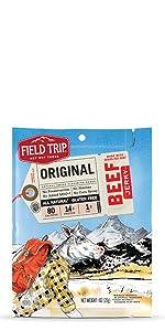 field trip original beef jerky gluten free all natural grass fed