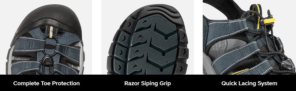 keen newport h2, toe protection keen, keen sandals men, newport sandals uk, men water sandals