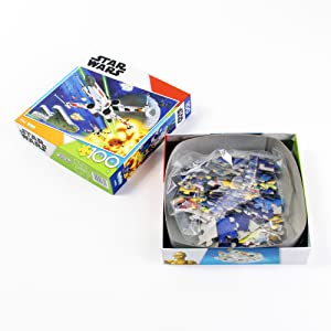 100 Piece Puzzle Packaging