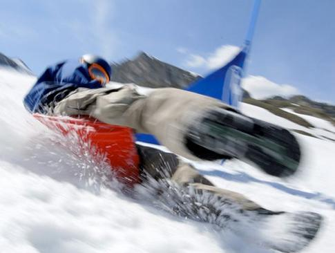 Amazon.com: Zipfy Freestyle Luge Nieve Trineo para niños y ...
