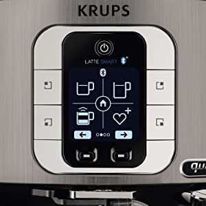 krups ea860e kaffeevollautomat one touch cappuccino latte smart app gesteuert. Black Bedroom Furniture Sets. Home Design Ideas