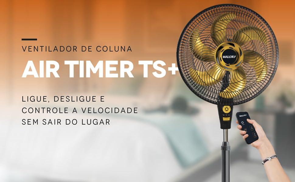 Ventilador, coluna, Air timer, Mallory, controle