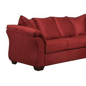 Fantastic Ashley Furniture Signature Design Baveria Traditional Style Rolled Arm Sleeper Sofa Queen Size Mattress Included Fog Machost Co Dining Chair Design Ideas Machostcouk
