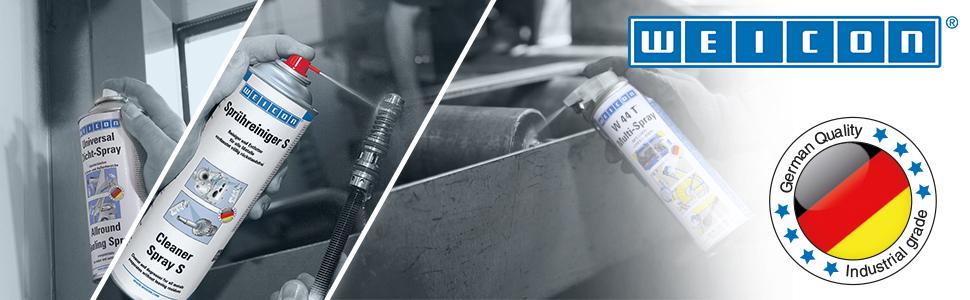 WEICON 11350400-36 Spray 400ml-Lubricante de Silicona, Agente ...
