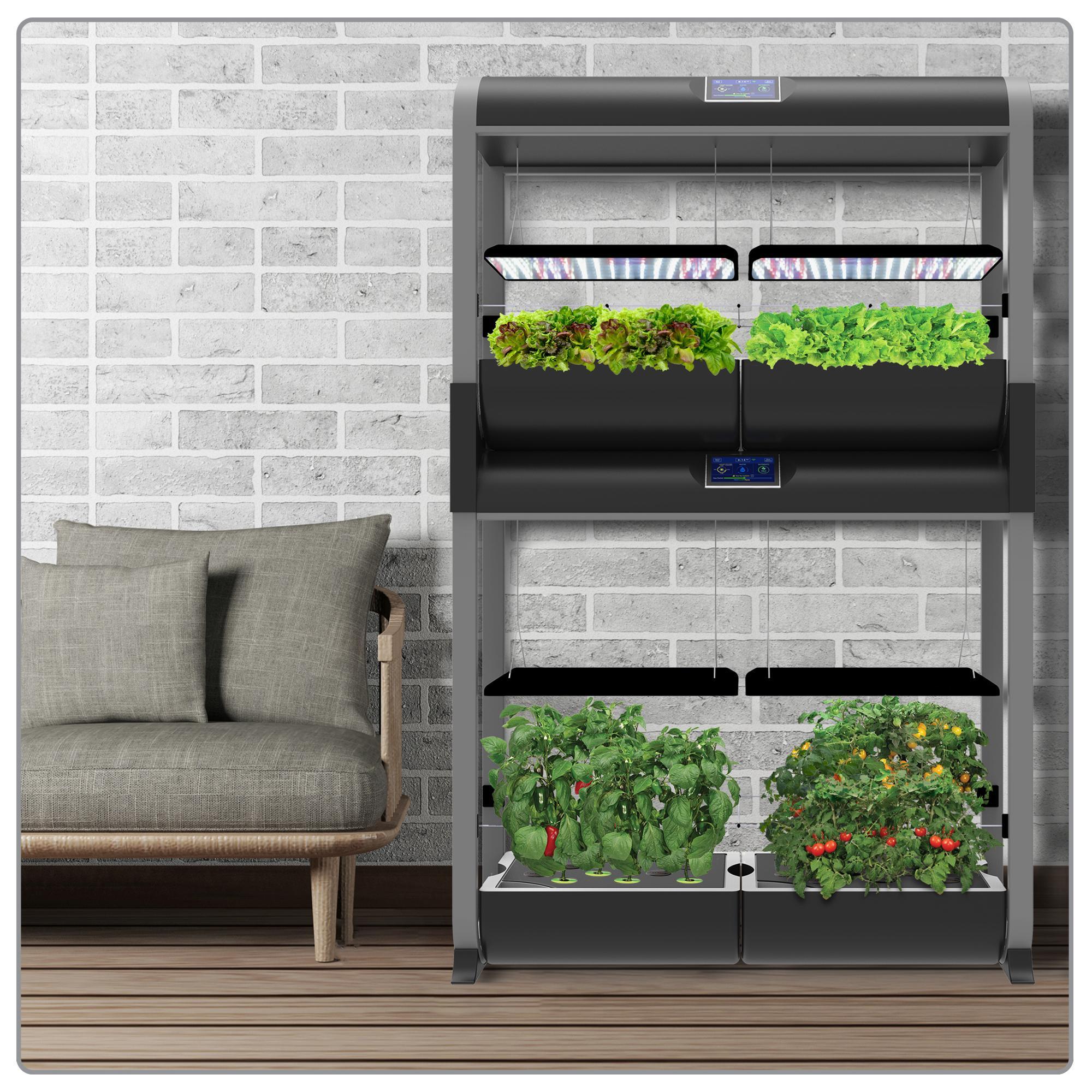 Amazon.com : AeroGarden Farm Plus Hydroponic Garden, 24