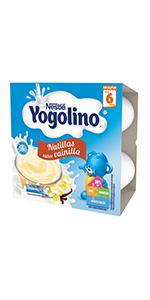 ... yogolino, vainilla ...