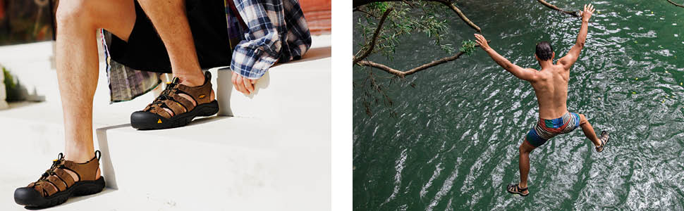 mens newport closed toe water sandal original lifestyle