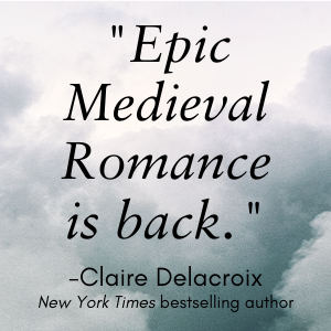 """""""Epic medieval romance is back."""""""