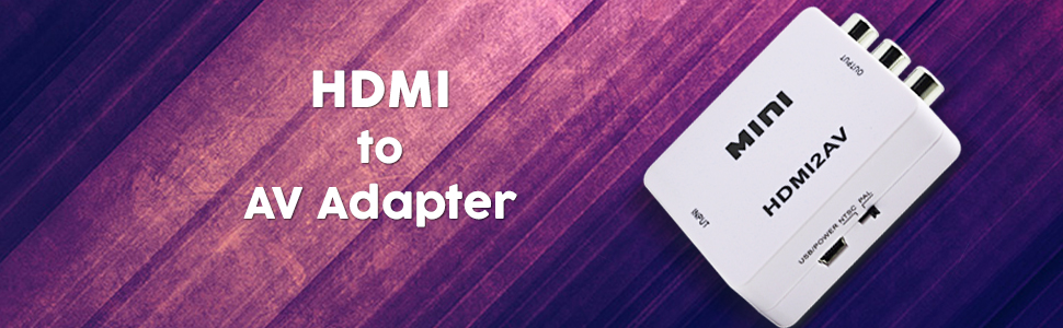 Terabyte Mini HDMI 2AV UP Scaler