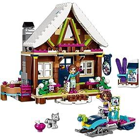 New Lego® Friends 41323 Chalet im Wintersportort Snow Resort Neuware Sealed