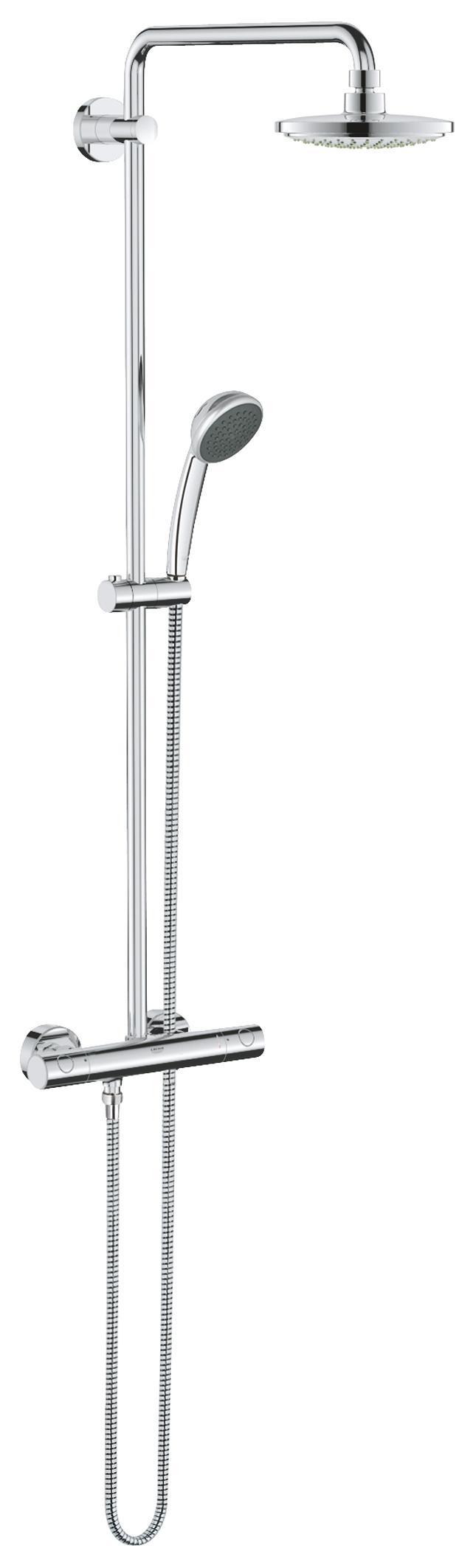 grohe 27298001 vitalio joy 180 shower system 3 sprays diy tools. Black Bedroom Furniture Sets. Home Design Ideas