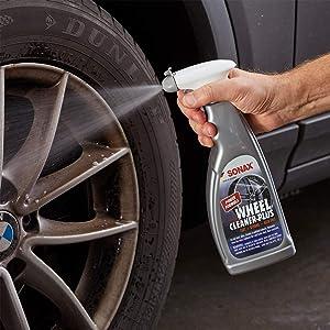 sonax wheel cleaner plus tire rim cleaner