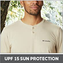 UPF 15 Sun Protection