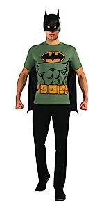 Amazon.com: Rubies Mens DC Comics 2nd Skin, Large, Batman ...