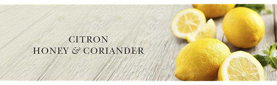Crabtree & Evelyn Citron Honey Coriander Body Wash Gel Bath Lotion Cream Hand Moisture Scent