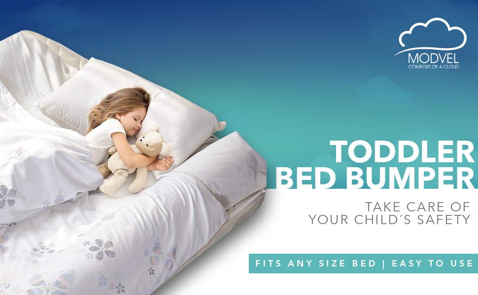 Toddler bed bumper