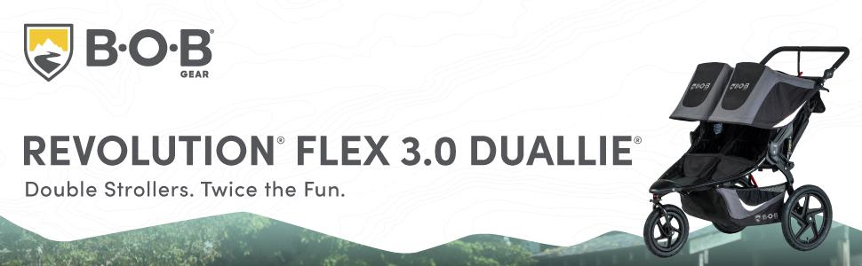 BOB Gear Flex 3.0 Duallie - Header