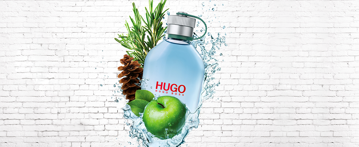 HUGO Man Eau de Toilette - Fragrance for Men, 75ml