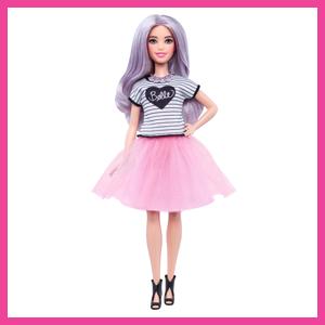 Barbie Fashionista - Muñeca Con Tutú Rosa