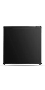 1.6 Cubic Feet Compact Refrigerator, Black