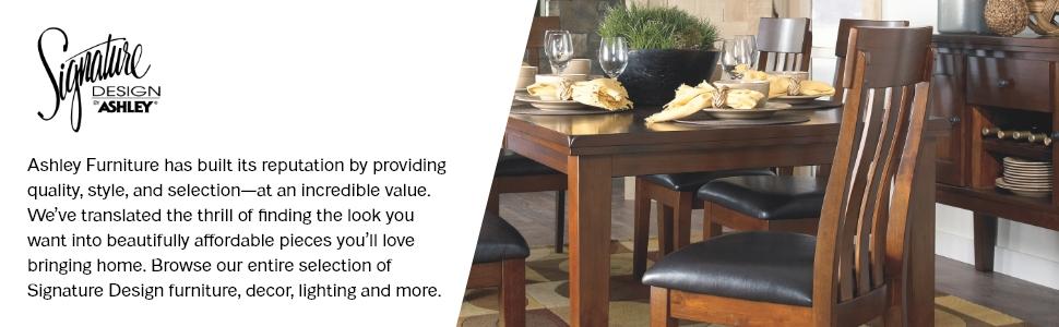signature design by ashley furniture kitchen