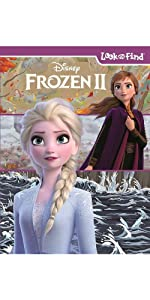 frozen 2 look and find book