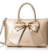 Satchel Handbag with Bow