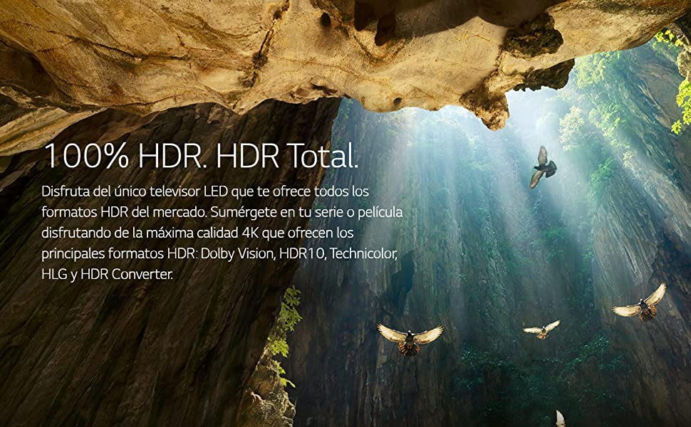 100% HDR. HDR Total.