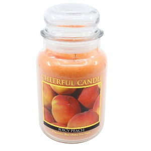 24oz Juicy Peach Jar Candle