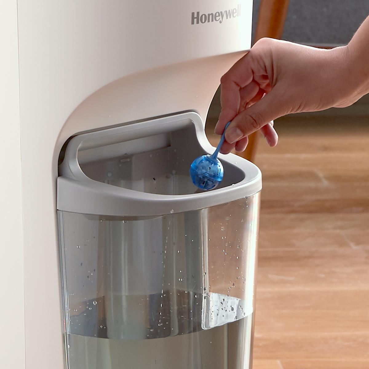 How to clean honeywell humidifier hcm 350