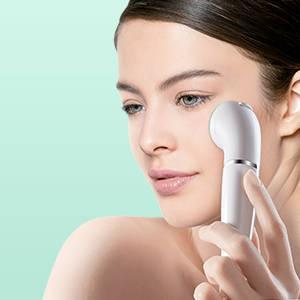 Braun Face – Depiladora para el viso y cepillo de limpieza para el viso con Micro