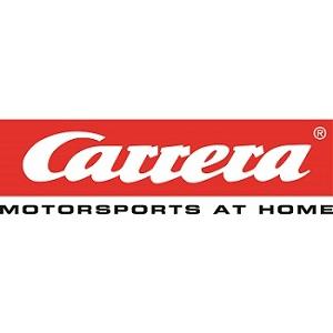 Carrera Motorsports at home slot car racing logo