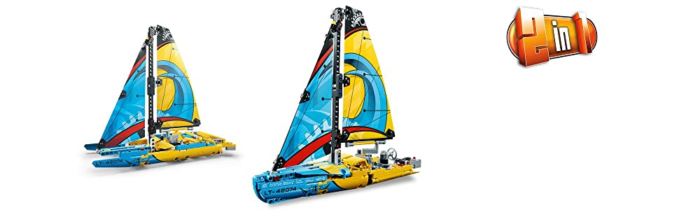 42074 LEGO Technic Racing Yacht Sail Boat New Sealed Catamaran 2nd Build